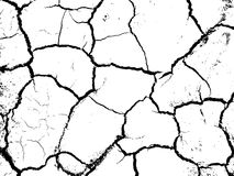 Soil cracks Royalty Free Stock Photos