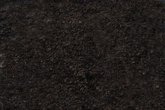 Soil dark grey texture background. Stock Photography