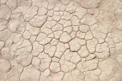 Soil detail of dry pan, Sossusvlei, Namib Desert Royalty Free Stock Photography