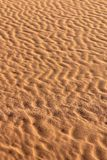 Soil detail of Sossusvlei sand dunes, Namib desert Stock Photography