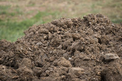 The Soil or the dirt for construction Stock Photos