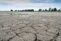 Soil drought cracked Stock Photos