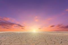 Soil drought cracked landscape Stock Photos