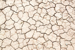 Soil dry after miss rainfall Stock Photos
