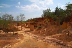 Soil erosion Royalty Free Stock Photography