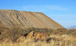 Soil erosion Royalty Free Stock Photo