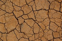 Soil erosion Royalty Free Stock Images