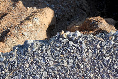 Soil erosion Stock Photo