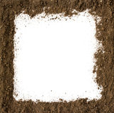 Soil Frame Royalty Free Stock Photography