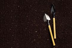 Soil and garden tool Royalty Free Stock Photo