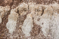 Soil groove Royalty Free Stock Photo