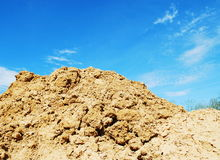 Soil hill Royalty Free Stock Photography