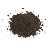 Soil isolated on white Stock Images