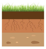 Soil layer Stock Photos