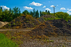 Soil Mounds Royalty Free Stock Image