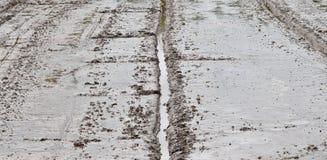 Soil mud in rice field prepare for plant rice in agriculture. Detail soil mud in rice field prepare for plant rice in agriculture Stock Photo