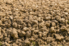 Soil is a natural clay Royalty Free Stock Photos