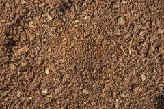 Soil plain texture background Royalty Free Stock Images