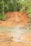 Soil road royalty free stock photo