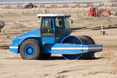 Soil roller Royalty Free Stock Images