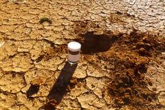Soil Sampling. Environmental Conservation for Soil Sampling stock photography