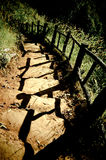 Soil stairs Stock Photography