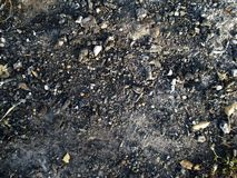 Soil&Stone. Hard soil and stone texture for landscaping Stock Images