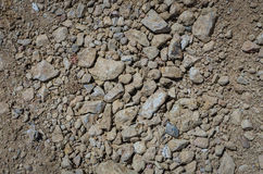 Soil and stone texture as background Royalty Free Stock Photos