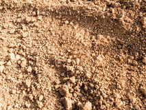 Soil surface Royalty Free Stock Photos