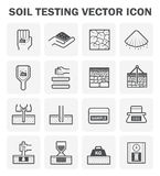 Soil test icon Royalty Free Stock Photo