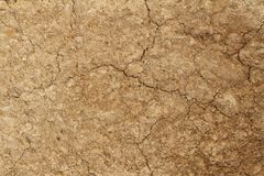 Soil texture background. Pattern of soil texture background Royalty Free Stock Images