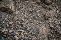 Soil texture background Stock Image