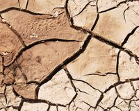 Soil texture on the ground Royalty Free Stock Photography