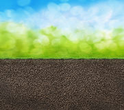 A soil texture Royalty Free Stock Image
