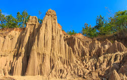 Soil textures Stock Photo