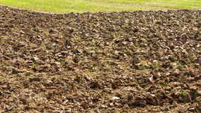 Soil tillage Stock Photography
