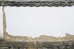 Soil wall Royalty Free Stock Image