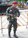 Soilder tailandese dell'esercito. fotografia stock