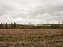 Soily-Feld in der üppigen Landschaft von Essex Stockfotos