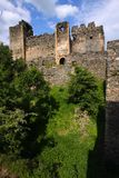 Soimos Medieval Fortress stock photography