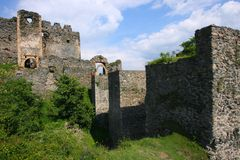 Soimos Medieval Fortress Stock Photo