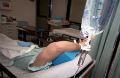 Soin de bruyère : Pièce d'hôpital Image libre de droits