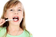 Soin de dents Photos libres de droits