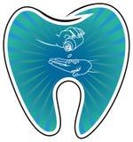 Soin dentaire Photographie stock libre de droits