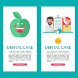 Soin dentaire Illustration de vecteur Image stock