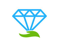 Soin Diamond Icon Logo Design Element Photo stock