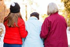 Soins à la maison pluss âgé Photo libre de droits