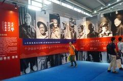 Soins de l'exposition des vétérans de la guerre de la résistance Image stock