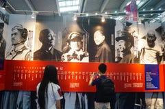 Soins de l'exposition des vétérans de la guerre de la résistance Photo stock