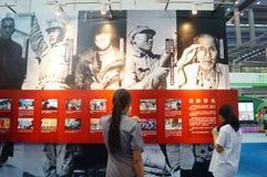 Soins de l'exposition des vétérans de la guerre de la résistance Images stock